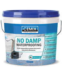 Waterproofing | Cemix Products Ltd